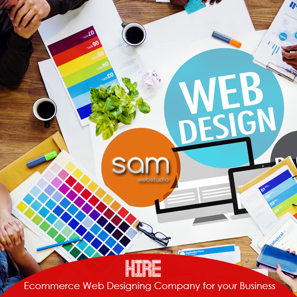 Ecommerce Website Designing Company in India.